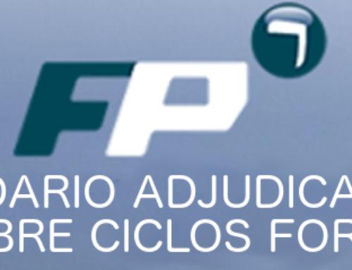 ACTOS ADJUDICACIÓN PLAZAS DE VACANTES DE CICLOS FORMATIVOS